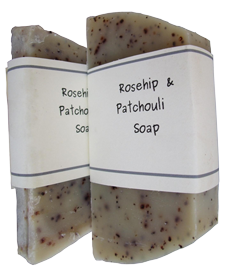 Rosehip & Patchouli Soap